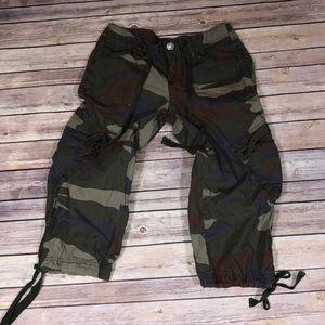 Capri Army Cargo Pants